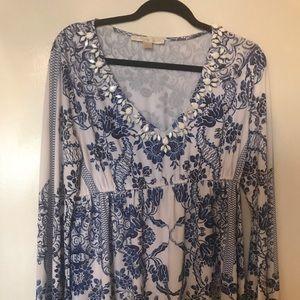 Boston proper blouse size medium